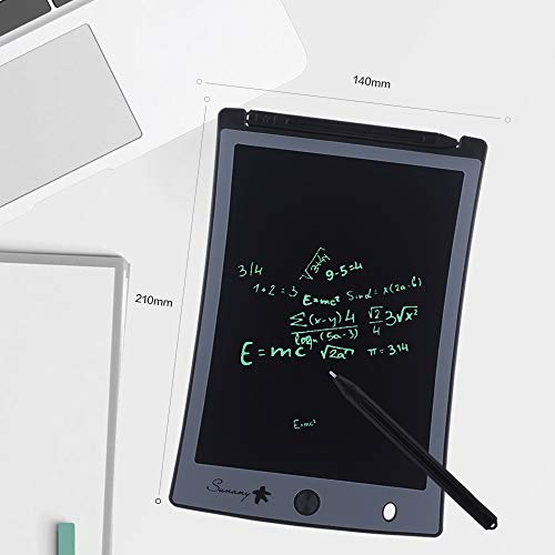 "LCD Writing Tablet,Electronic Writing &Drawing Board Doodle Board,Sunany 8.5"" Handwriting Paper Drawing Tablet Gift for Kids and Adults at Home,School and Office (Black)"