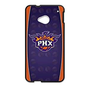 HTC One M7 Case with Phoenix Suns Team Logo (Laser Technology)-by Allthingsbasketball