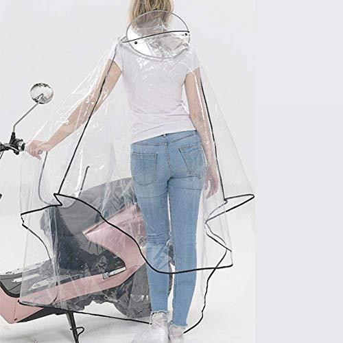 Veste Eva Transparent Vêtements Vélo Moto Pluie Fille Schwarze Imperméable Line Femmes Poncho Classique De qVpSGzUM