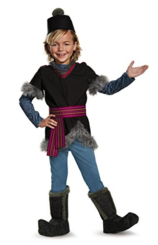 Kristoff Deluxe Child Frozen Disney Costume, (Trap Queen Costume Halloween)