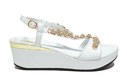 MELLUSO - Sandalias de vestir de Piel para mujer Bianco