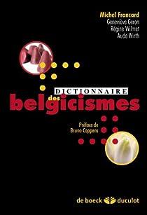 Dictionnaire des belgicismes par Francard