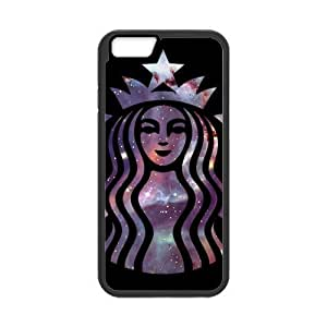 At-Baby Custom Starbucks Coffee Waterproof Dustproof Shock-Absorbing Protector Phone Case iPhone 6 4.7 Laser Technology TT1