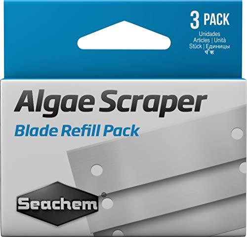 Seachem Laboratories Algae Scraper Replacement Blades (Pack of 3)