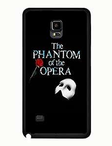 Phantom Of The Opera Design Artistical Theme Musical Samsung Galaxy Note 4 Hard Plastic Case yiuning's case