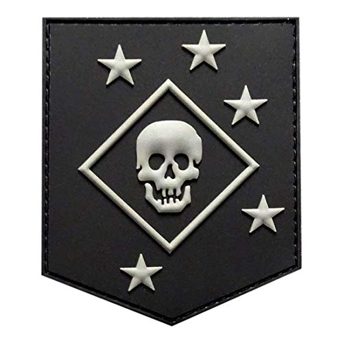 Raider Amphibious Morale Hook Fastener Patch (3.0 X 2.5 PVC Rubber-PC1)