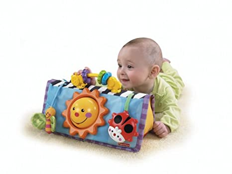 Amazon.com: Fisher-Price barriga divertida actividad espejo ...
