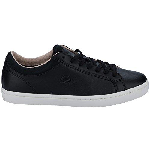 Lacoste Straightset W1 Mujer Zapatillas Negro