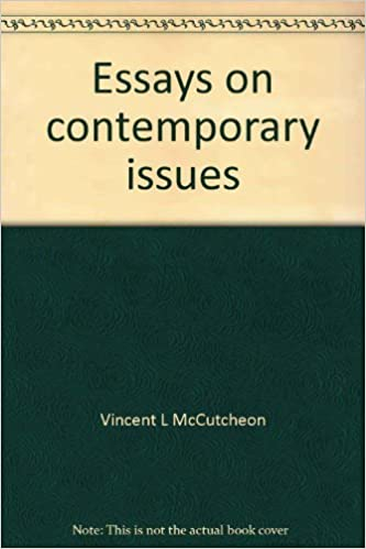 essay on contemporary issues