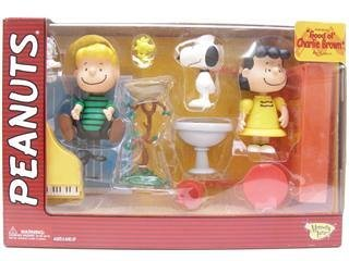Peanuts by Memory Lane - Snoopy, Lucy and Schroeder Box Set by Peanuts