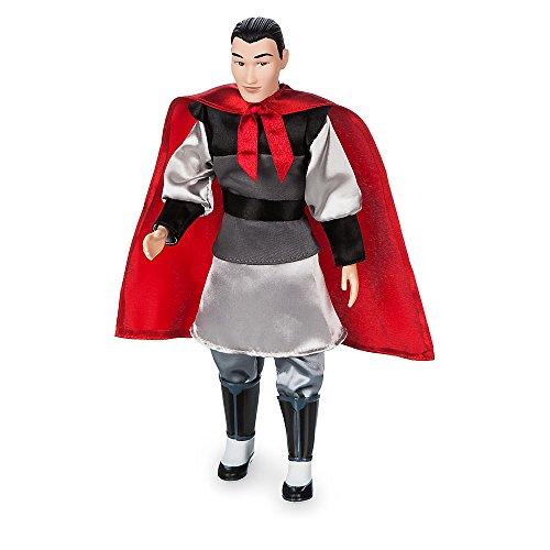 Disney Li Shang Classic Doll - Mulan - 12 (Mushu Costume Mulan)