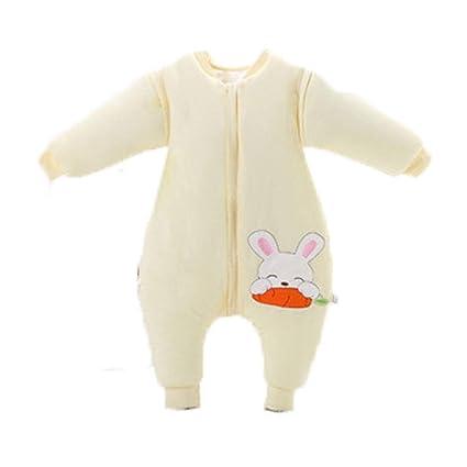 Baby 3.5Tog engrosamiento de las piernas para evitar patear sacos de dormir de dibujos animados