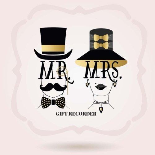 Mr & Mrs Gift Recorder: Registry, Recorder, Organizer, Keepsake for All Occasions | Bridal, Baby Shower, Wedding, Birthdays, Christening Christmas & ... Paperback (Personal Organization) (Volume 10)