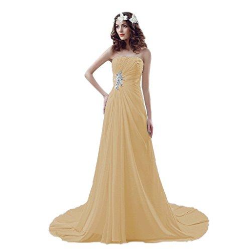 Lace Chiffon Aurora reg; Gowns Bridal Wedding Moccasin Sweetheart Beaded Dresses up Beach nwAYzq4xw
