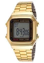 Casio Watch - A178WGA1A (Size: men)