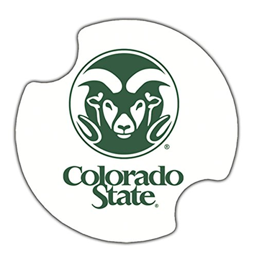 (Thirstystone Thirstystone Colorado State University Car Cupholder Coaster, 2-Pack)