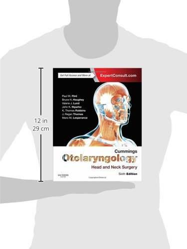 Cummings Otolaryngology: Head and Neck Surgery, 6e (OTOLARYNGOLOGY (CUMMINGS)) -  3-Volume Set