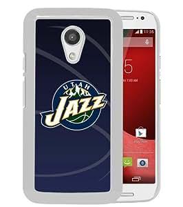 Unique And Durable Custom Designed Case For Motorola Moto G 2nd Generation With Utah Jazz 11 White Phone Case