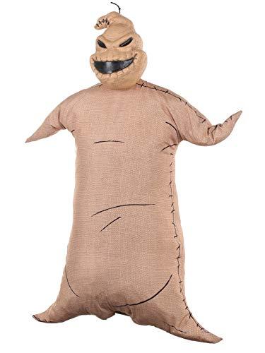 Zero Nightmare Before Christmas Halloween Costume (Disney The Nightmare Before Christmas Oogie Boogie Full Size Poseable Hanging Character)