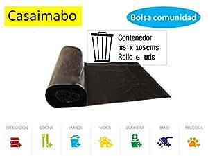 Casaimabo - Bolsas de Basura Comunidad 85x105 cm Eco.en ...