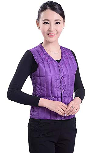Women's Waist Waistcoats Elastic with Style Outwear Fashion Lightweight YIHIGH Buckle 03 Style Down Down Warm Jacket Vest q4dn6TxBwC