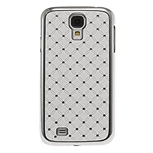 conseguir PC elegante + Rhinestone duro Volver Funda para el Samsung Galaxy S4 i9500 , Blanco