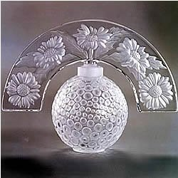 Lalique Folie Crystal Perfume Bottle 1132700 - Lalique Clear Crystal