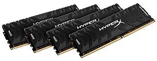 HyperX Predator Black 64GB 2666MHz DDR4 CL13 DIMM (Kit of 4) XMP (HX426C13PB3K4/64) (B071JM59B2) | Amazon price tracker / tracking, Amazon price history charts, Amazon price watches, Amazon price drop alerts