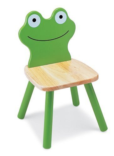 Pintoy Wooden Frog Chair: Amazon.co.uk: Kitchen & Home