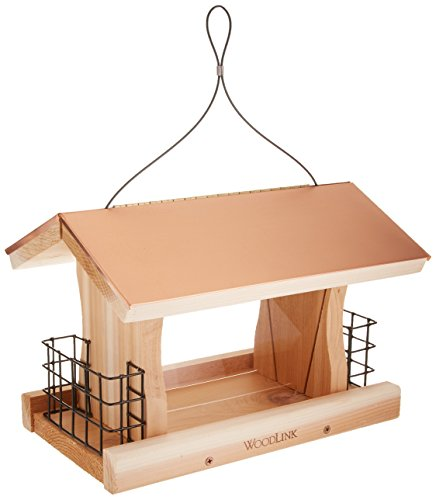 Cheap Woodlink COP4 Coppertop Ranch Feeder with Suet Cages