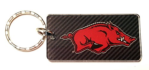 WinCraft Arkansas, University of S71150 Keychain Rectangle ()