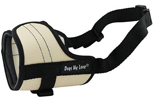 4.5 Snout - Adjustable Dog Muzzle 6 Sizes Beige (XXS: 4.5