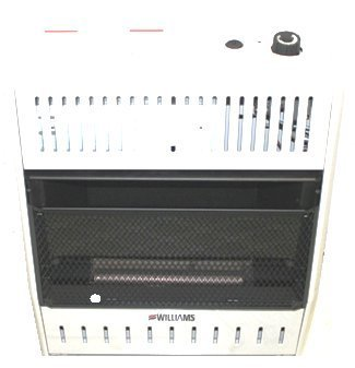 Williams - 2096513.9 - Portable Gas Heater, LP/NG, 20000BtuH, 8inL by Williams