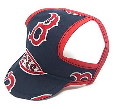 Dog Hat - Boston Red Sox Sports Fabric