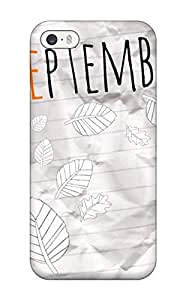 diy phone caseHigh Quality Kevin S Anderson September Bliss Paper Leaf White Orange Fall Nature Autumn Skin Case Cover Specially Designed For Iphone - 5/5sdiy phone case