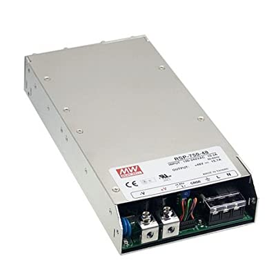 750W 15.7A 48V MEAN WELL AC/DC Power Supply RSP-750-48 with PFC function