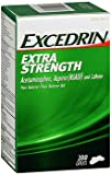 Excedrin Extra Strength Pain Reliever - 200 Caplets, Pack of 6