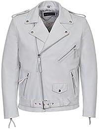 Amazon Com Whites Leather Faux Leather Jackets Coats