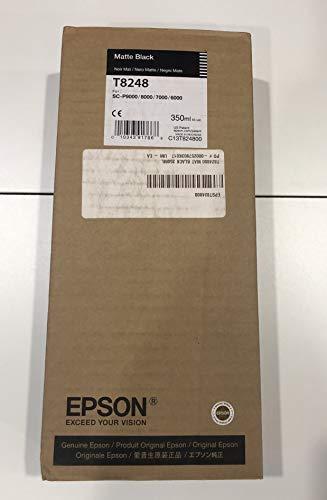 Epson UltraChrome HD Ink Cartridge - 350ml Matte Black (T824800) from Epson Corporation