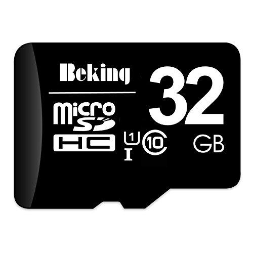 Beking MicroSDカード Class10 メモリカード Microsd クラス10 SDHC マイクロSDカード Androidスマートフォン デジカメ 超高速転送 (32GB)