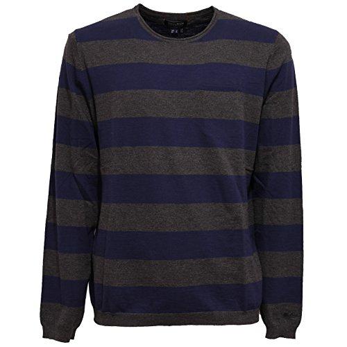 Woolrich Maglione Sweater Cotton 5712w grey Uomo Blu Men grigio Blue qTWqZ7Bw