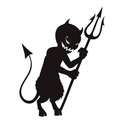 Demarkt 1PCS Halloween Black Little Ghost Fish Fork Wall -