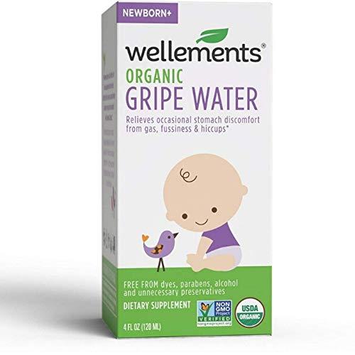 Wellements Gripe Water For Colic 4 oz (Pack of 2) by Wellements Baby