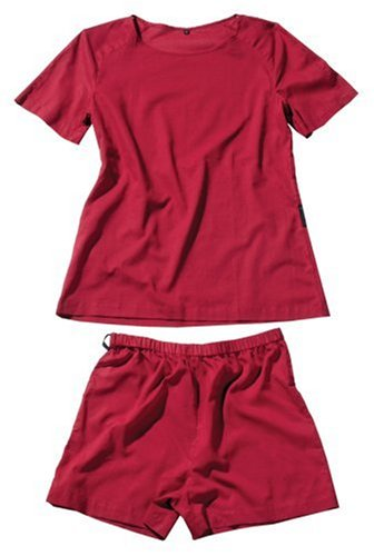 Cocoon Women's Egyptian Cotton Traveler's Tree Adventure Nightwear, Raspberry, Small
