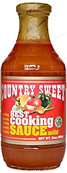 Country Sweet Sauce - Premium Cooking and Finishing Sauce (Mild, 21 ounces)