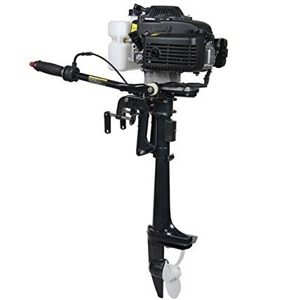 Four stroke air cooled 4 hp outboard motor boats fishing for Buy boat motors online