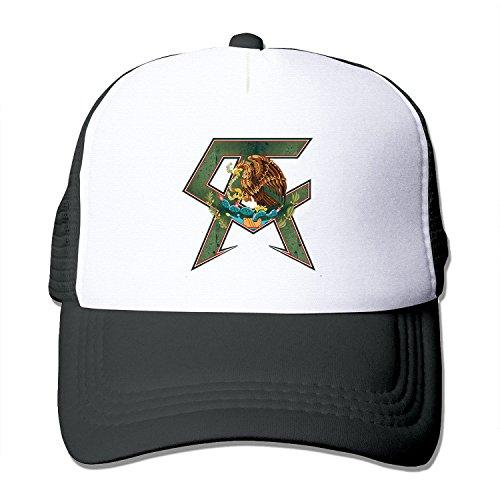 LIANBANG Canelo Alvarez Adjustable Printing Mesh Cap Unisex Adult Sun Visor Baseball Mesh Hat