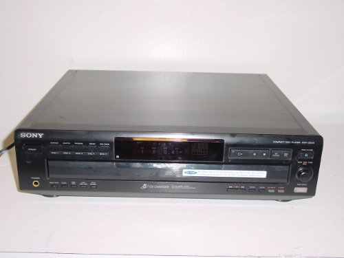 Sony CDP-CE525 5-Disc CD Changer Player System (Cd Player Carousel)
