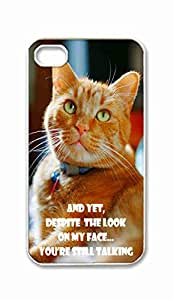 Foreverway Custom iPhone 4 4S 4G Case , Yet Despite The Look On My Face You Are Still Talking Hard Plastic Protective Cases Cover --2089