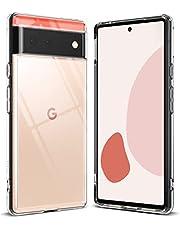 Ringke Fusion Compatibel met Google Pixel 6 Case, Transparant Schokbestendig Bumper Hoesje - Clear